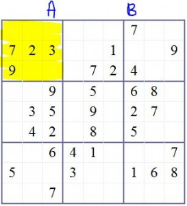 Diagram 2 – Sudoku Tips 1