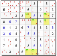 sudoku swordfish column variation