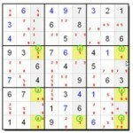 Swordfish Strategy - Advanced Sudoku Solving Method