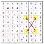 Advanced Sudoku Strategy - An Introduction to the X Wing