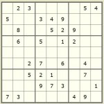 Advanced Sudoku strategy tips - X wing