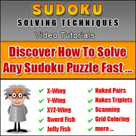 Learn How to Solve Sudoku - Step by Step Video Lessons